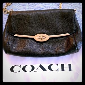 COACH crossbody turn lock bag